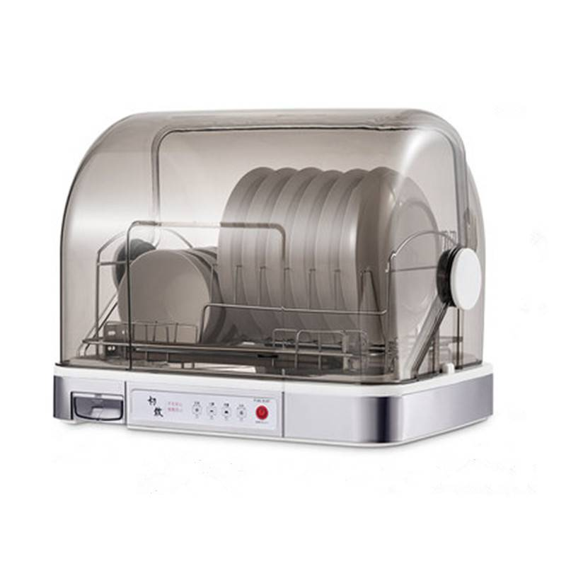 消毒碗柜家用碗架沥水架厨房置物架小型放碗碟架筷餐具收纳盒含盖