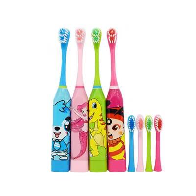 创意儿童电动牙刷卡通全自动超声波电动防水牙刷洗漱用品