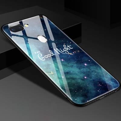 oppor15手机壳男r15oppo标准版潮个性创意r15玻璃opp女硅胶薄防摔