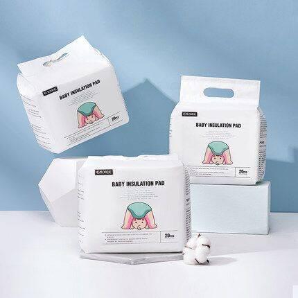 嫚熙婴儿隔尿垫防水透气一次性护理垫纸尿片巾床垫新生儿宝宝用品