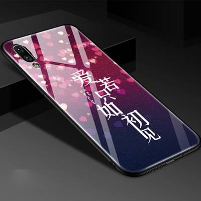 vivox23幻彩版手机壳玻璃女款x23幻彩版保护套v1816a防摔个性创意