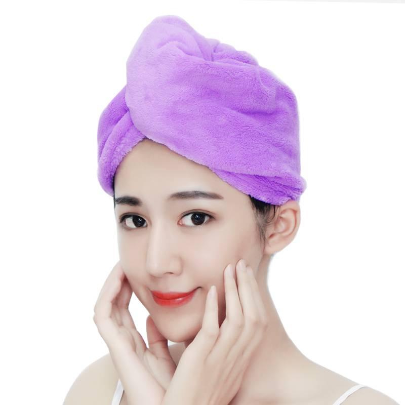 干发帽女吸水速干日本擦头发毛巾可爱干发巾洗头巾洗澡儿童浴帽