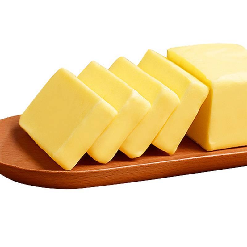 千澜淡味黄油块454g食用烘焙蛋糕雪花酥煎牛排家用无盐动植物黄油
