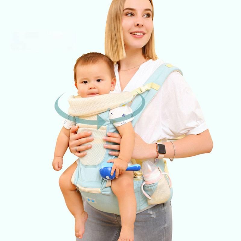 婴儿背带多功能儿童前抱式宝宝坐凳单凳腰凳轻便四季通用抱娃神器