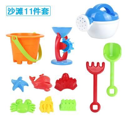儿童沙滩玩具套装铲子和桶大号沙漏小孩宝宝挖沙玩沙工具男孩女孩