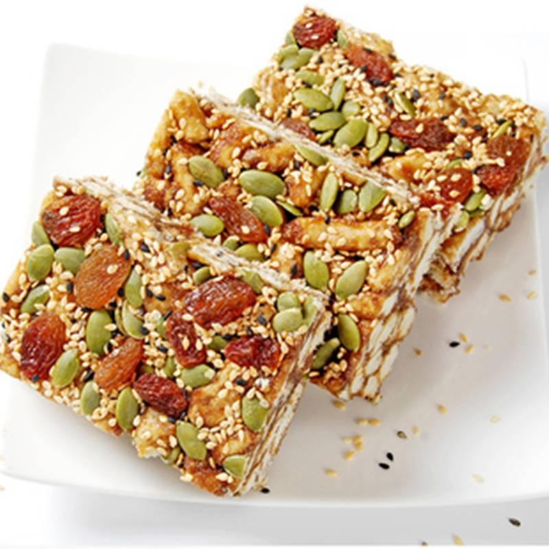 坚果黑糖沙琪玛软糯孕妇零食整箱散装坚果休闲小吃1斤到4斤一箱