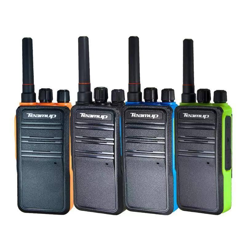 天能达迷你对讲机T80收音手持小型对讲机商业用美发店美容院餐厅