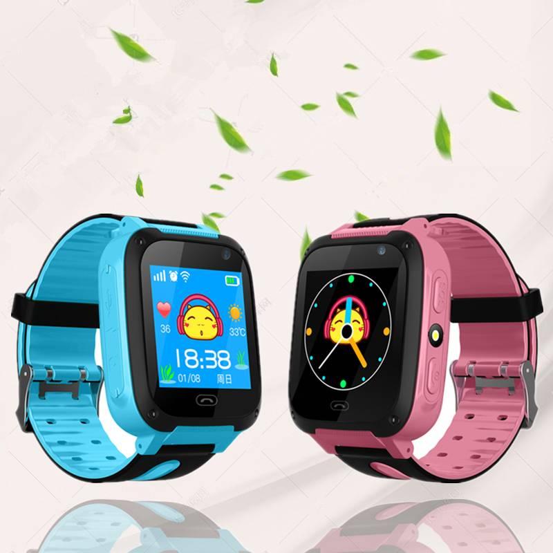 儿童电话手表智能GPS定位移动版男女孩拍照通话插卡防水学生手环