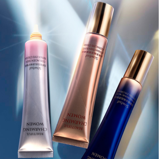 [拍3件 第2、3件0元]SOWBAF水嫩晶透眼霜改善眼周细纹护肤品正品