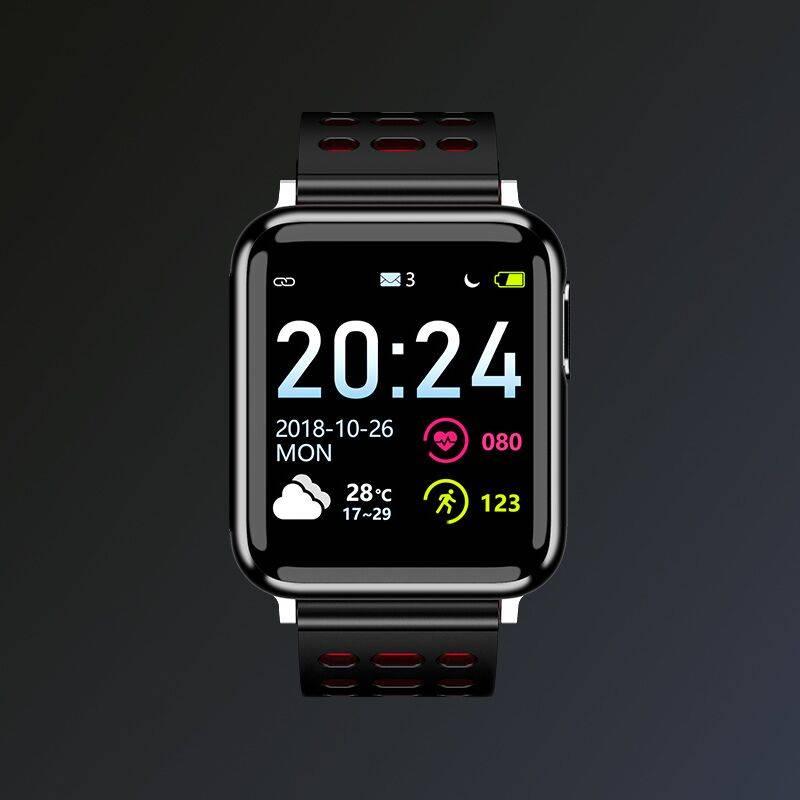 智能手环ecg+ppg监测血压心率报警心电图心脏心跳脉搏血氧彩屏运动健康医疗级男女手表多功能适用安卓苹果