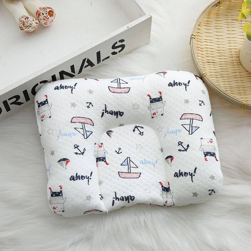 宝宝防偏头定型枕婴儿枕头0-1岁纠正偏头新生儿头型矫正神器四季