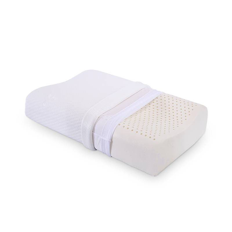 莎曼尼泰国天然乳胶枕头双人枕芯记忆枕家用枕头单人护颈枕颈椎枕