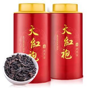 茶友必备武夷山大红袍罐装100g