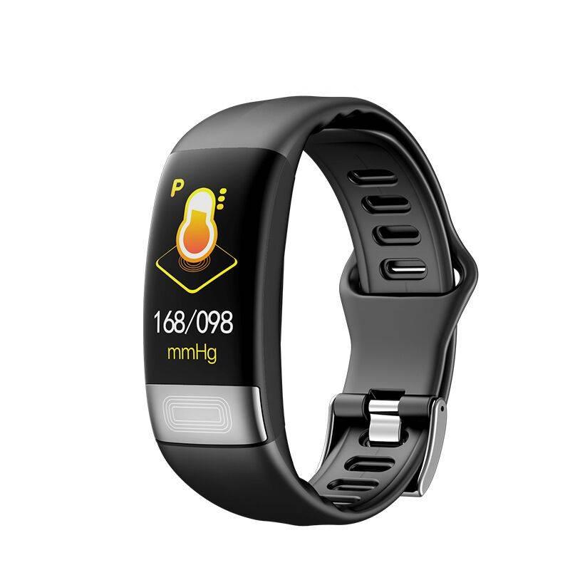 ECG+HRV医疗级智能手环监测血压血氧心率AI心电图心跳心脏报警睡眠防水男女华为苹果OPPO健康运动计步器手表