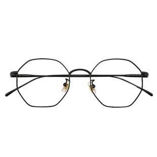 邁道多邊形朱一龍同款純鈦男女韓版潮近視有度數防藍光ins眼鏡架