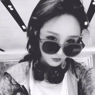 新款偏光太陽鏡女士防紫外線墨鏡女韓版潮網紅圓臉明星防輻射眼鏡