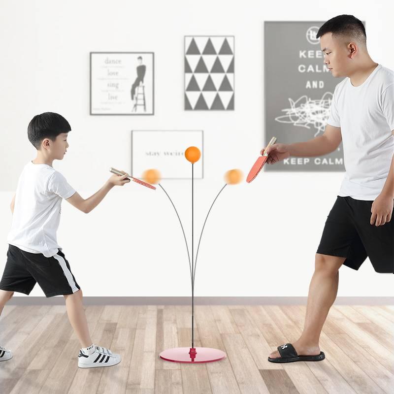 弹力软轴乒乓球训练器兵兵自练网红神器儿童防近视室内力玩具家用