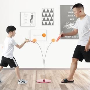 【抖音爆款】弹力软轴乒乓球训练器