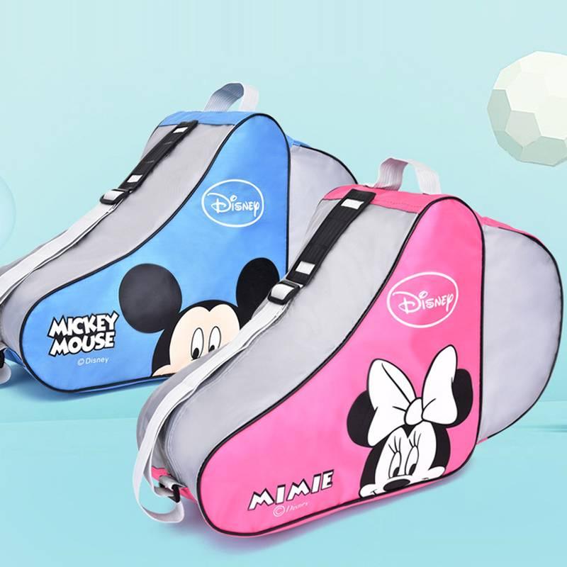 儿童轮滑鞋溜冰鞋轮滑包旱冰鞋袋子专业滑冰冰刀加厚单肩收纳背包
