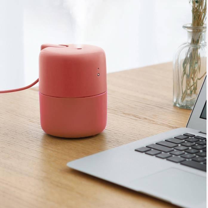 紫麦 桌面USB加湿器静音办公室桌面卧室空气补水迷你便携加湿器
