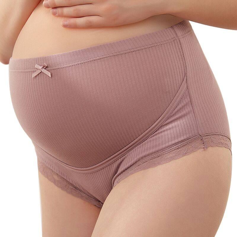 fsay孕妇内裤高腰托腹纯棉裆抗菌孕初期中期后期大码孕妇内衣裤头