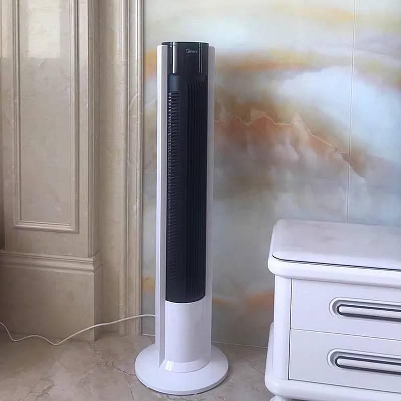 美的电风扇家用遥控立式电扇无叶静音塔扇定时台式落地扇