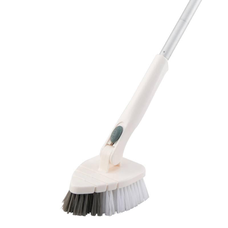 长柄地板刷家用浴室瓷砖清洁神器卫生间去死角清洁硬毛洗厕所刷子
