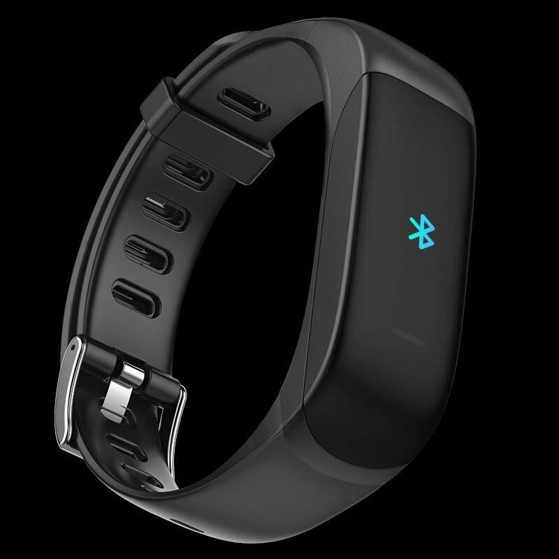 智能手表多功能磁吸蓝牙耳机手环二合一医疗级运动心率血压心跳监测防水计步接听电话短信提醒天气微信男女