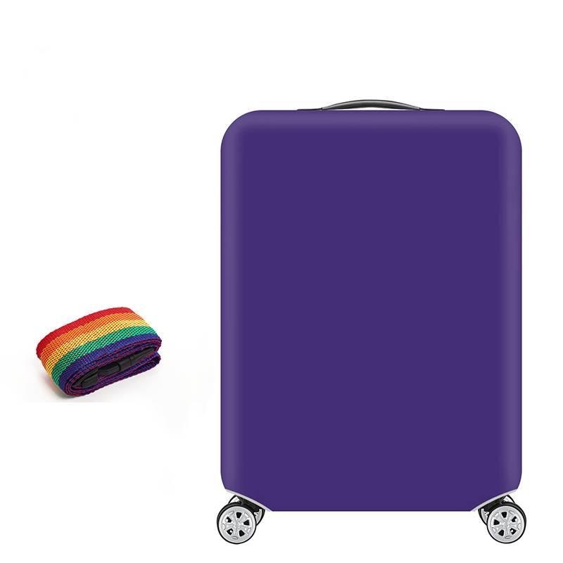 弹力行李箱保护套拉杆旅行箱套防尘罩20/24/28/30寸加厚耐磨防水
