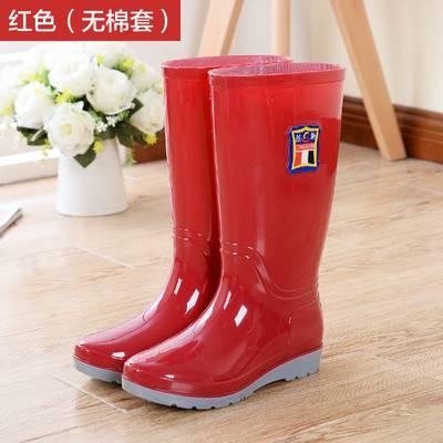 雨鞋男女高筒成人保暖雨靴防滑加棉绒水鞋靴耐磨长筒迷彩雨靴套鞋