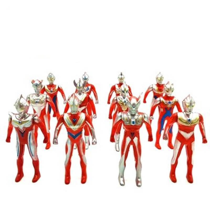 奥特曼玩具模型超人偶组合套装迪迦赛罗银河欧布怪兽蛋变身器玩具