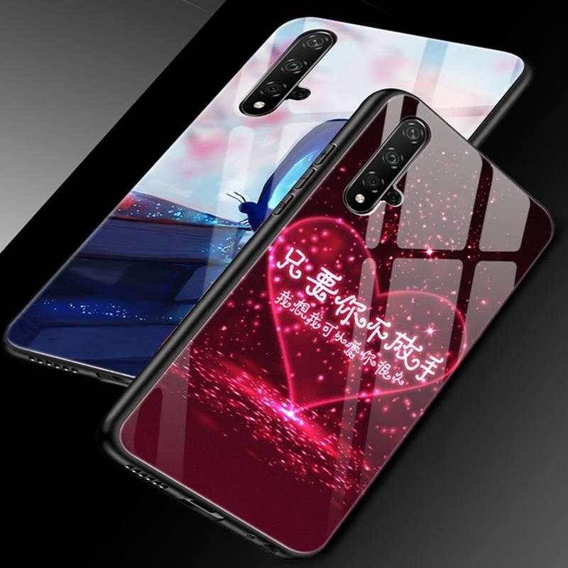 华为nova5手机壳nove5pro玻璃novo5pr0防摔SEA-AL10男女n0va5全包