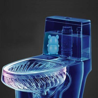 洁厕灵蓝泡泡马桶除臭去异味厕所用清洁剂除垢神器洁厕宝液清香型