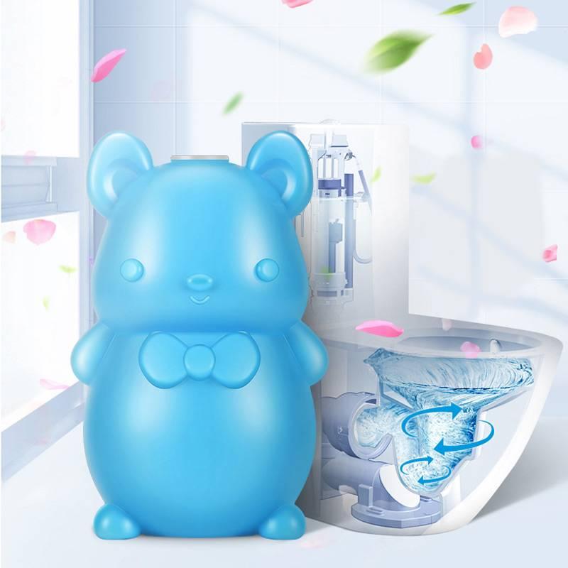 洁厕灵马桶除臭去异味清洁剂洁厕炮宝蓝泡泡厕所家用神器清香型垢