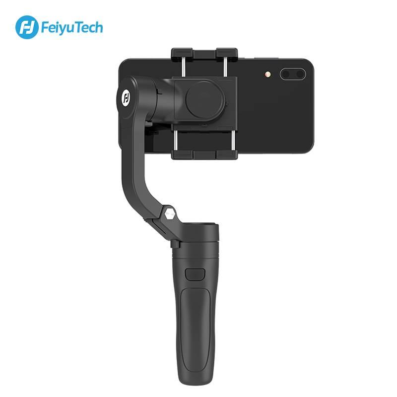 新品飞宇VLOG pocket手机稳定器 防抖手持云台折叠便携三轴拍摄器