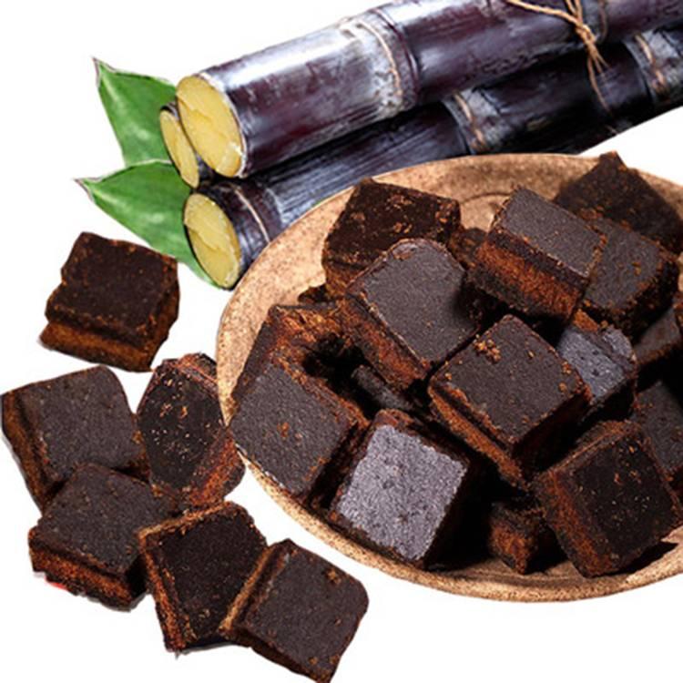 御果农庄原味黑糖纯正黑糖块甘蔗黑糖古御法熬煮手工老红糖260克
