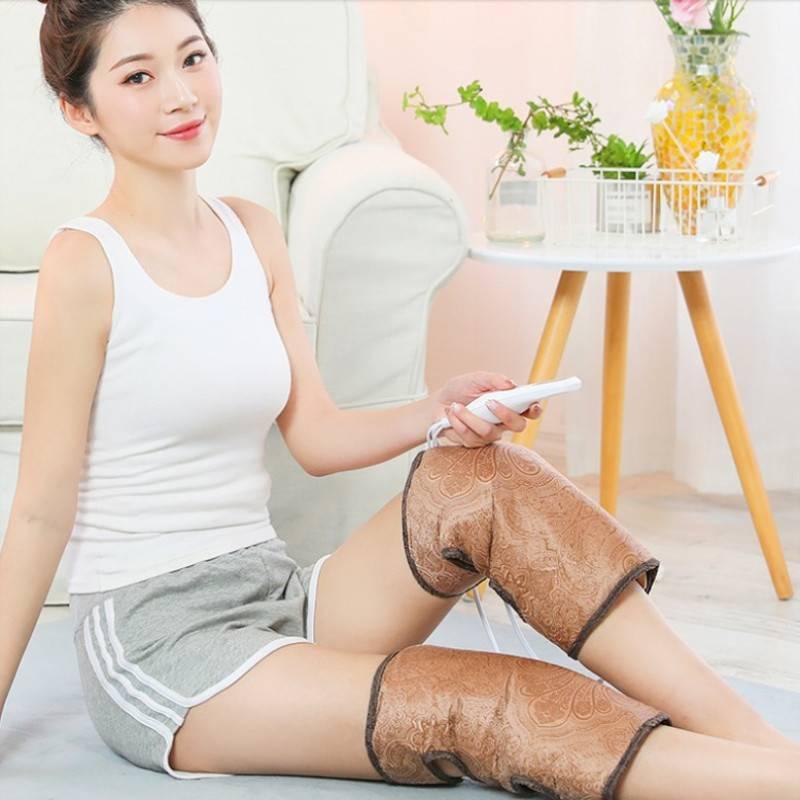 帝宗电加热护膝老寒腿关节保暖艾灸热敷包热敷盐袋膝盖疼痛神器
