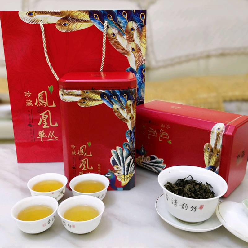 鸭屎香潮州凤凰单枞茶特级乌岽单丛茶茶叶500g单从茶大乌叶乌龙茶