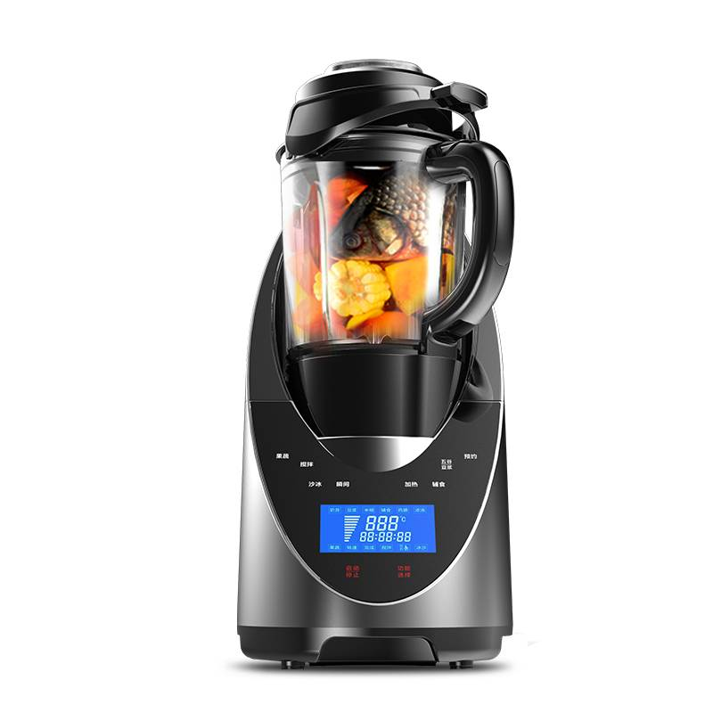 新款破壁机家用加热榨汁破壁料理机养生全自动多功能豆浆机搅拌
