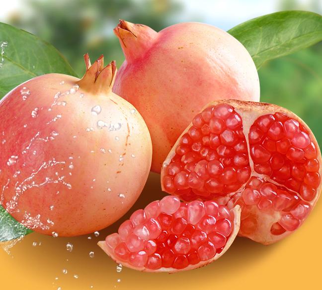 云南蒙自石榴水果6-8两大果非会理突尼斯软籽整箱6斤顺丰新鲜包邮