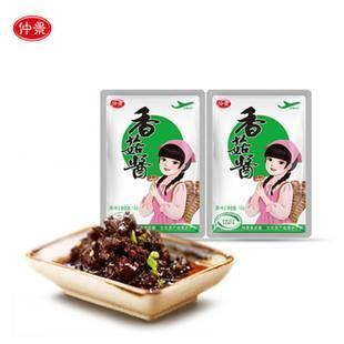 仲景香菇酱原味16gx30袋