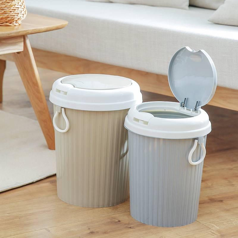 LH创意自动换袋垃圾桶环保家用客厅卧室卫生间厨房办公室大号纸篓