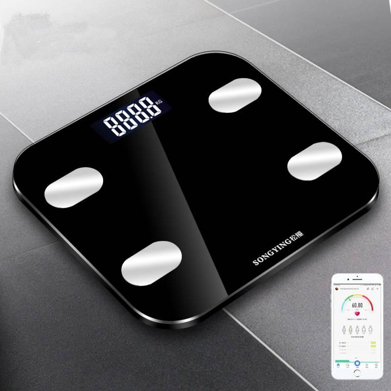 松樱智能健康体脂秤电子秤人体秤家用体重称测脂肪称成人男女