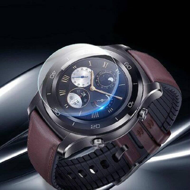华为gt手表膜华为watch gt手表钢化膜雅致款活力时尚watchgt荣耀magic全屏圆形1/2pro保护膜s1华为