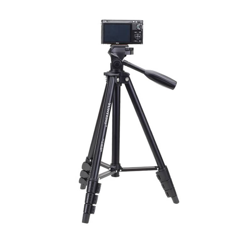 云腾尼康佳能单反相机三脚架户外便携小超轻折叠专业拍摄支架681