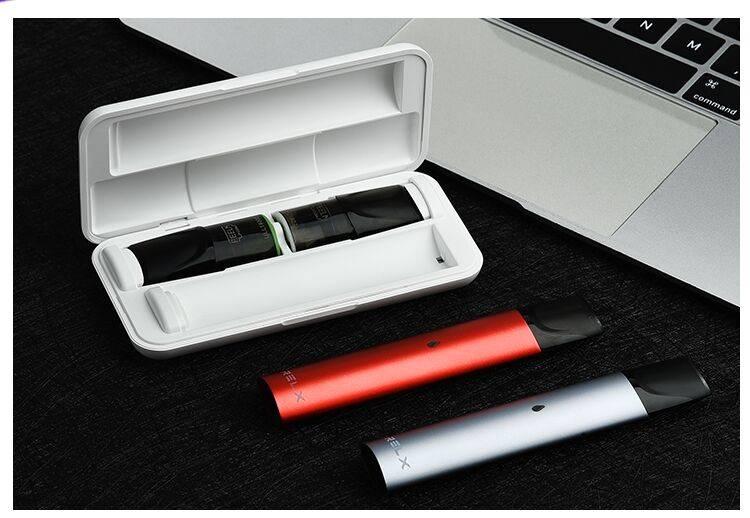 悦刻relx电子烟保护套电子姻锐克烟弹relax收纳盒雾化舱便携配件