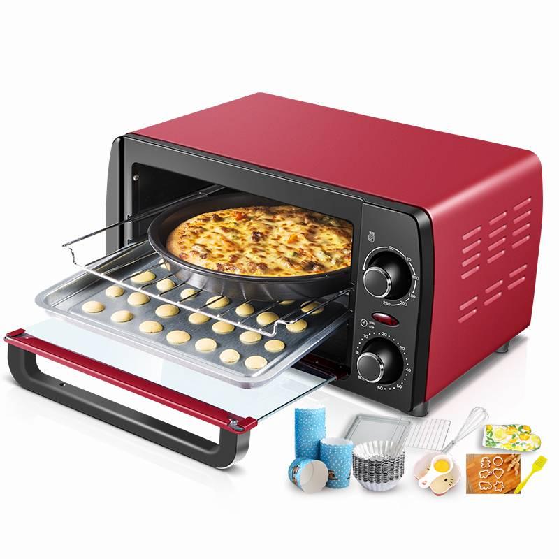 Konka/康佳 KAO-1208电烤箱烘焙多功能家用迷你小烤箱烘焙礼包12L