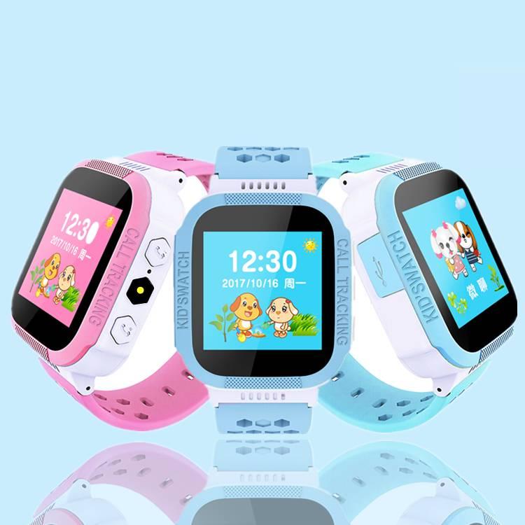 儿童智能电话手表多功能定位拍照防水移动联通版自由换卡通话手表
