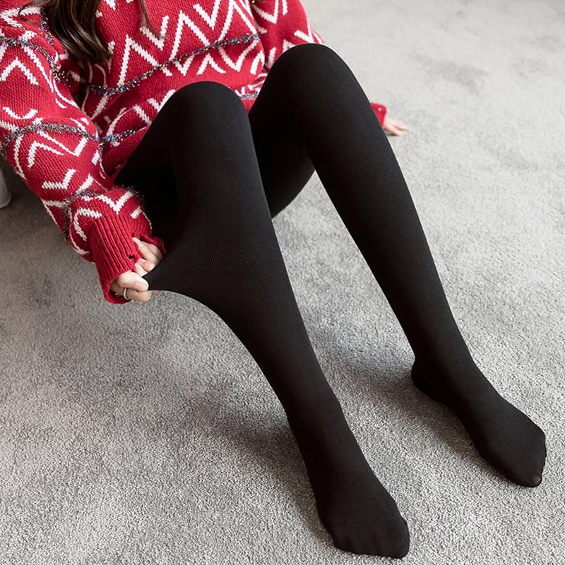 孕妇打底裤丝袜秋冬加绒加厚孕妇连袜怀孕期冬款袜子踩脚孕妇冬装