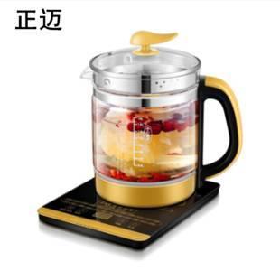 正邁養生壺全自動 加厚玻璃多功能花茶煮茶器燒水壺煲湯粥隔水燉